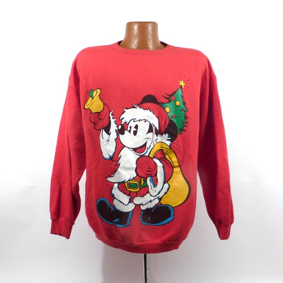 image 0 - Mickey Mouse Christmas Sweater
