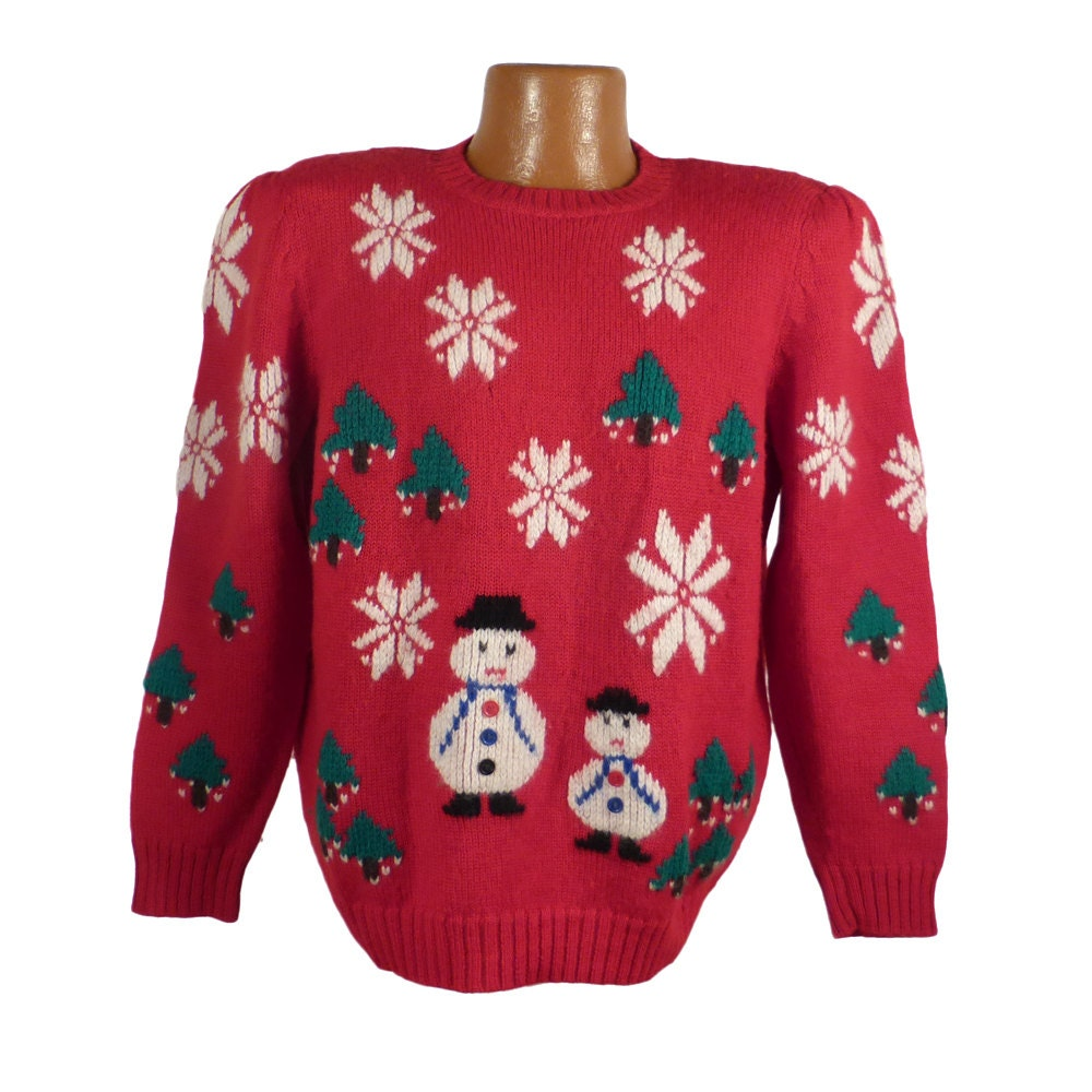 Ugly Christmas Sweater Vintage Wool Party Nordstrom Holiday   Etsy