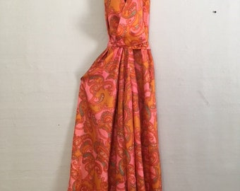 Vintage mid- 1960s Wrap jump suit by Eye Ful by the 'Flaums' size 30 (4)