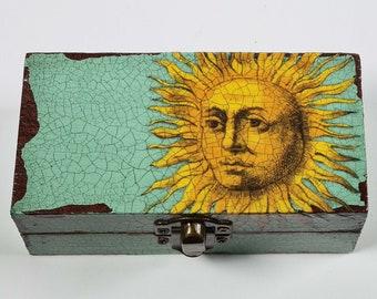 Mr Sunshine Decoupage Small Box