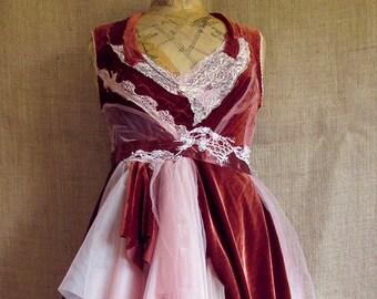 Rust dress