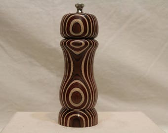 7 Inch LAMINATED BIRCH PEPPERMILL Number 1700