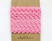Pink Ric Rac - Pink Ric Rac 1 2 inch - Ric Rac - Sewing Ric Rac - Zig Zag trim - Pink Ric Rac - Pink Ribbon - Party trim - Bulk Sewing Trim