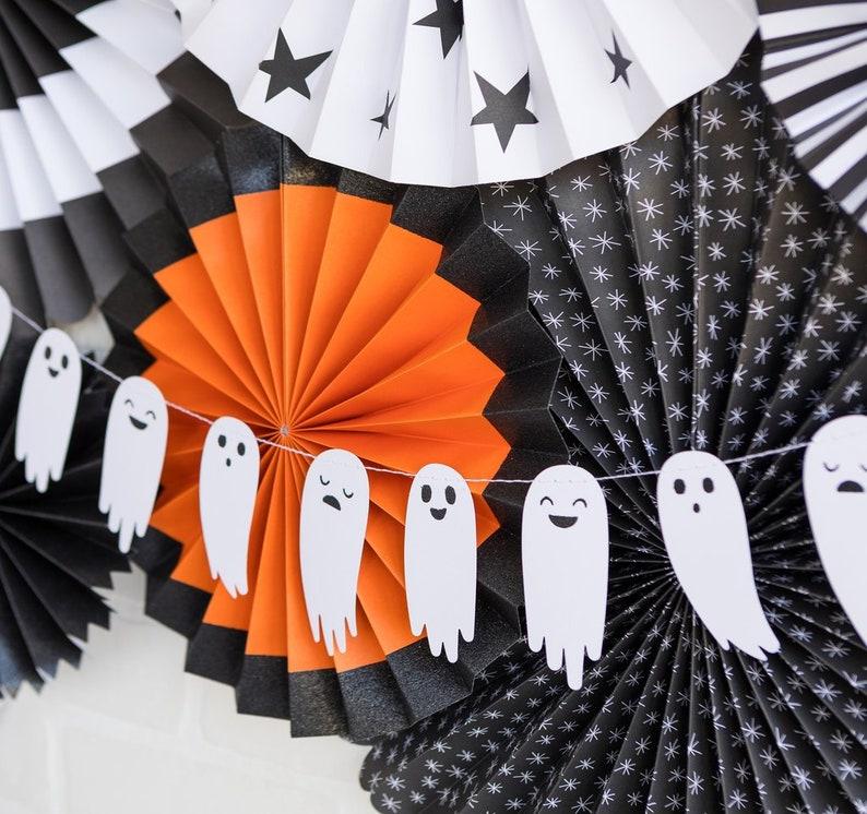 Halloween Ghost Banner  Ghost Banner  Ghost Garland  image 0