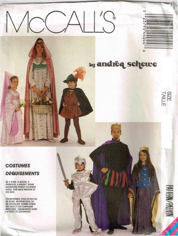 Nähen Schnittmuster Halloween Kostüm mittelalterliche Königin | Etsy