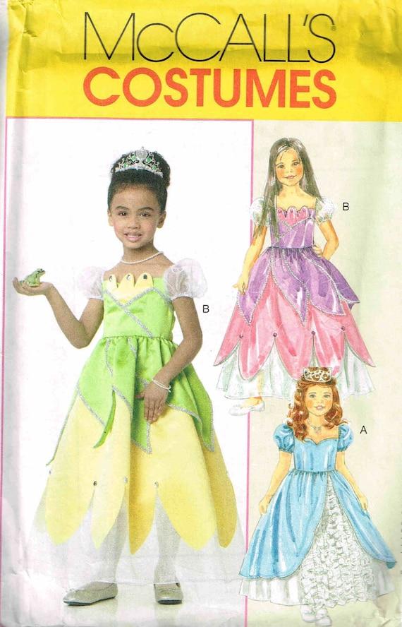 Halloween-Kostüm Nähen Muster Fee Prinzessin Kleid Mädchen | Etsy