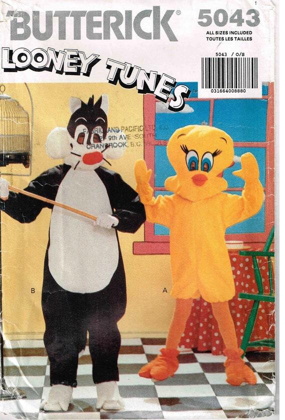 Nähen Schnittmuster Halloween Kostüm Tweety Vogel und | Etsy