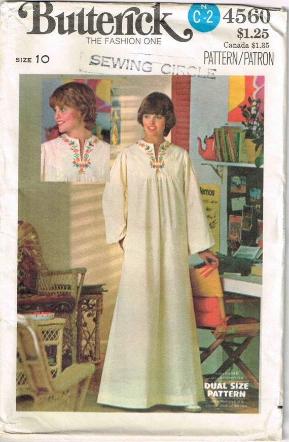Nähen Muster Pullover Kaftan Kleid Butt 4560 Zelt Kaftan