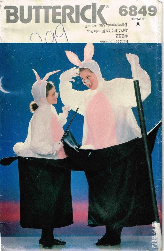 Nähen Muster Misses Männer Hase im Hut Halloween Kostüm Butt | Etsy