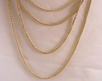 Gold Multi Chain Necklace