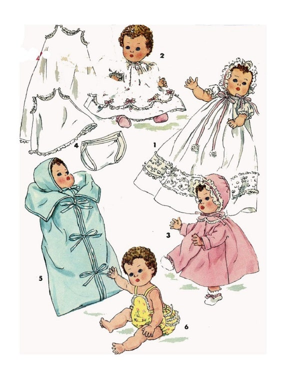 "Doll Clothes PATTERN 3406 for 14/"" dolls Betsy Wetsy Tiny Tears by Ideal Snowsuit"