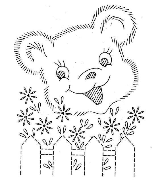 Digital Hand Embroidery Quilt Pattern Design 797 Animals Etsy