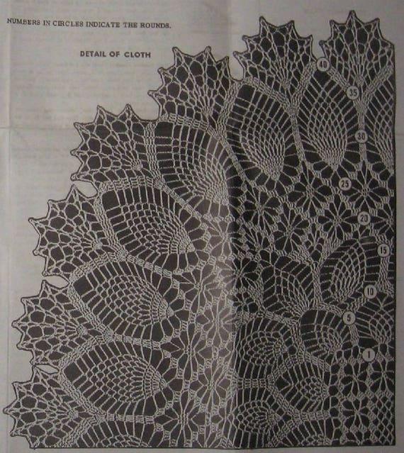 Crochet Cushion Cover Vintage Crochet Pattern Pdf Instant Download