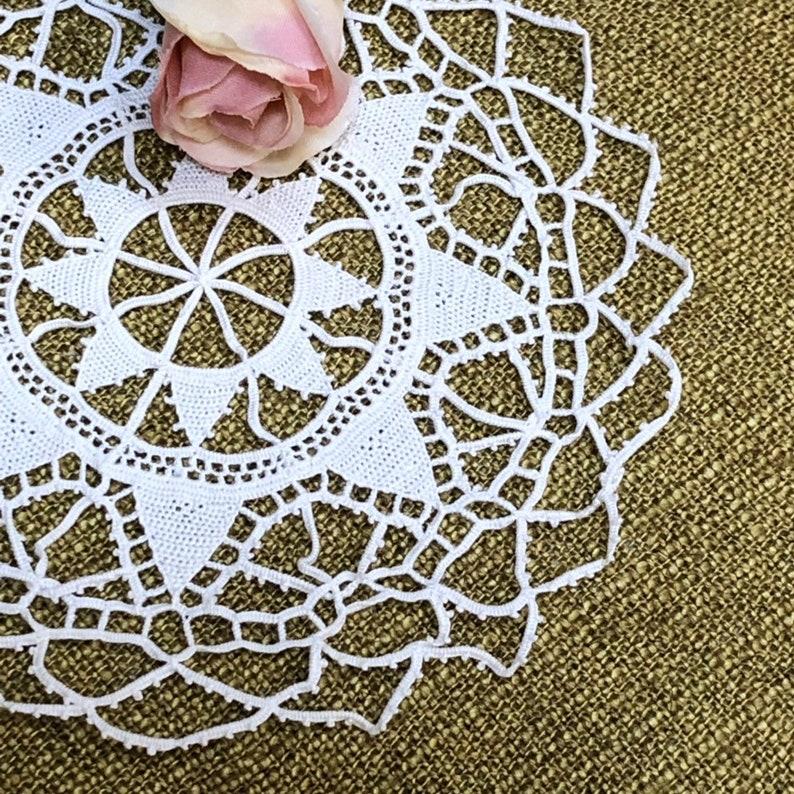 Antique Needle Lace Doily