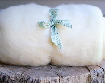 Wool Stuffing - Wool Batting - One Pound Core Wool