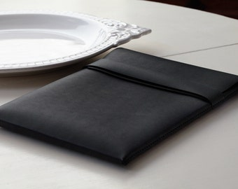 MacBook Air Case - Leather - 11 inch - Black - FREE SHIPPING