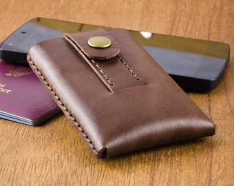 Cardholder - Mens Wallet - Leather Card Case Men - Slim Wallet - Thin Card Wallet - Mens Wallet - Leather Wallet - FREE SHIPPING