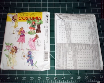 M5732 McCalls costume pattern - Fairy clothes - two sizes available - Kids and Miss