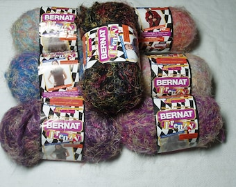 Bernat Frenzy Yarn - 7 different colors available