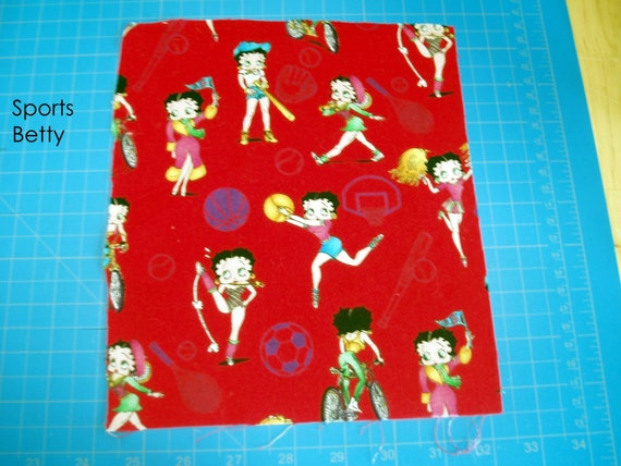 Betty Boop Kisses Personalized Dish Kitchen or Hand Towels ANY COLOR