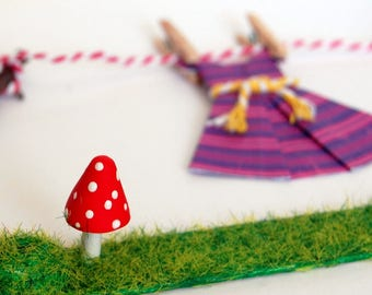 Miniature Washing Line | Fairy Garden | Dolls house | Model Making | Embellishment