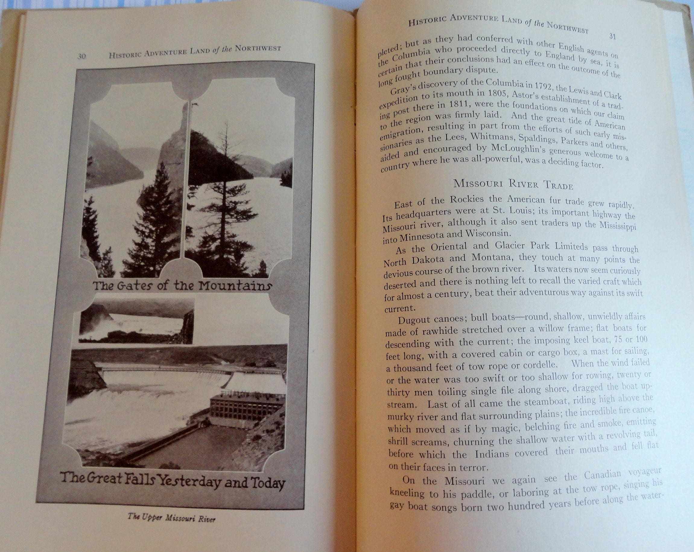 Great Northern Railroad Memorabilia Booklet Historic Land of ...