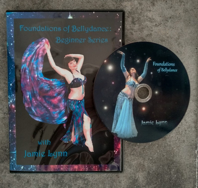 Bellydance Instructional DVD Beginner Foundations of image 0