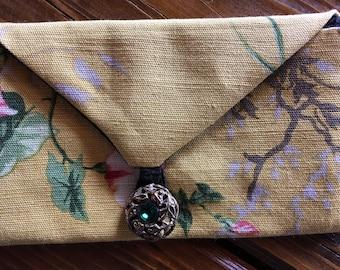 Handmade Mala Pouch ~Rosary Envelope by Barneche ~Stephanie Barnes Studio
