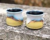 Pair of wine/juice cups