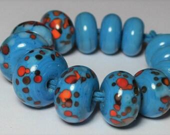 Mezcla de vidrio de Halloween granos de 9229 PK10 tienda  Reino Unido *