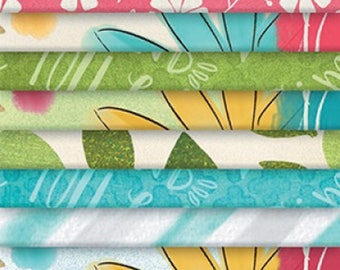 "Precut Fabric - Believe You Can by Wilmington Prints - 2 1/2"" x WOF Strip Pack - 24 Count - Modern!"