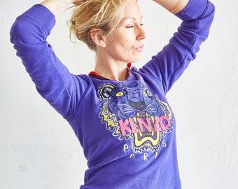 Vintage Kenzo Purple Tiger Sweatshirt