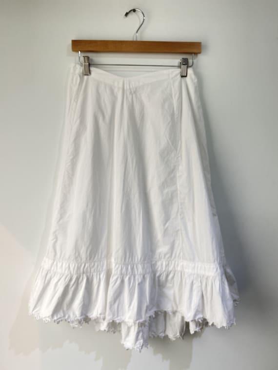 Vintage Victorian Petticoat Skirt