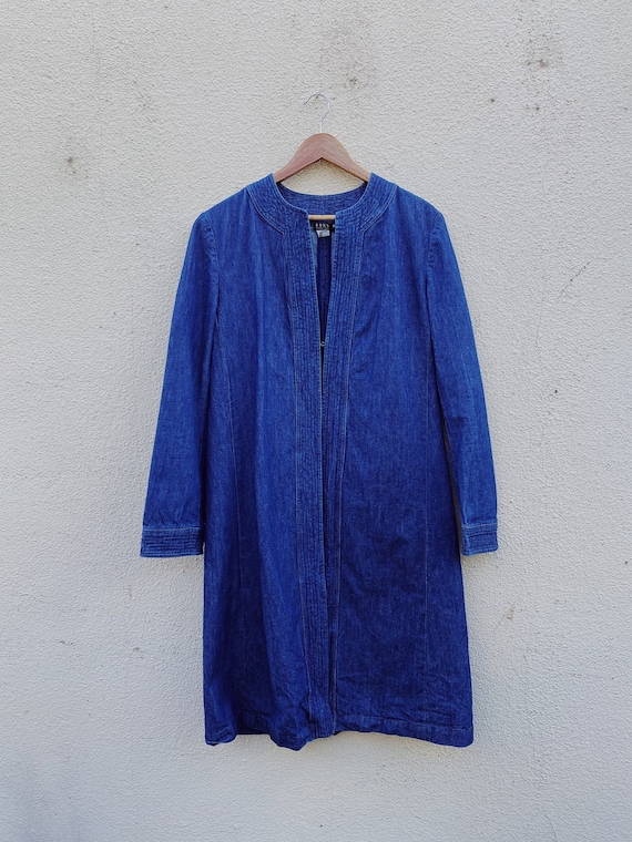 Vintage Michael Kors Denim Duster