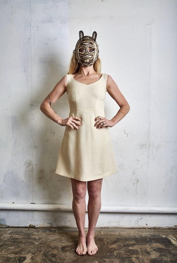 Vintage Comme des Garcons Lightweight Wool Dress … - image 2