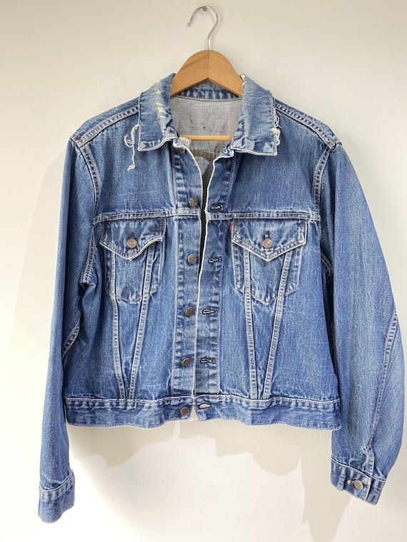 Vintage Big E Levi's Jean Jacket