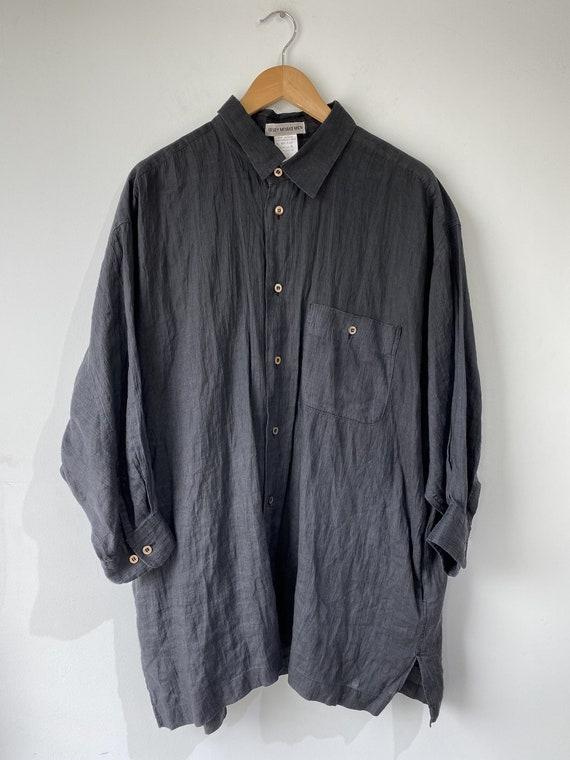 Issey Miyake Men Black Shirt