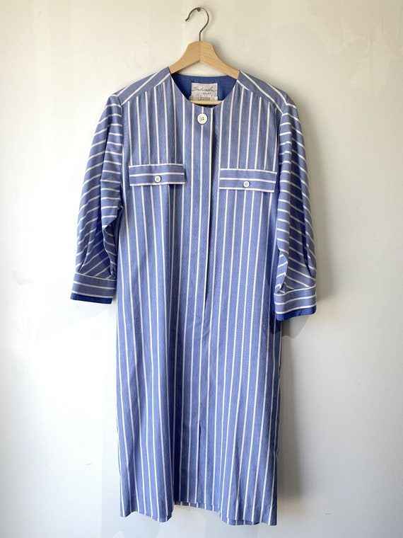 Vintage I. Magnin Schrader Sport Striped Dress
