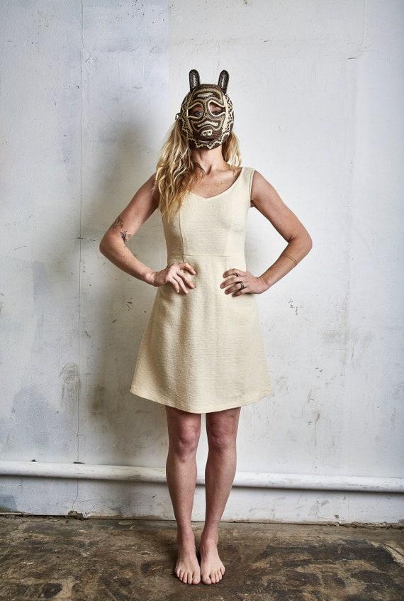 Vintage Comme des Garcons Lightweight Wool Dress c