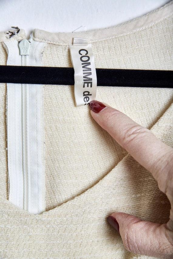 Vintage Comme des Garcons Lightweight Wool Dress … - image 10