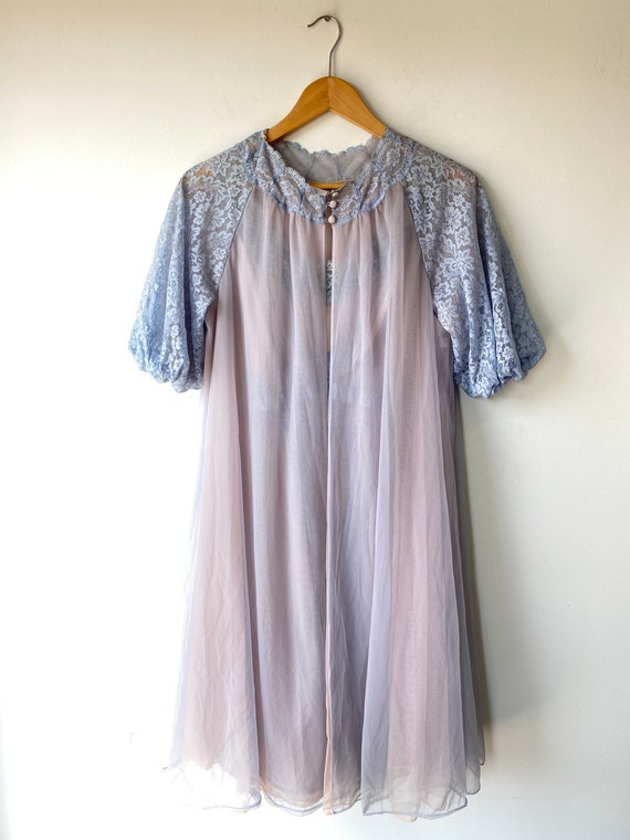 Vintage Vanity Fair Nightgown and Bed Jacket Set