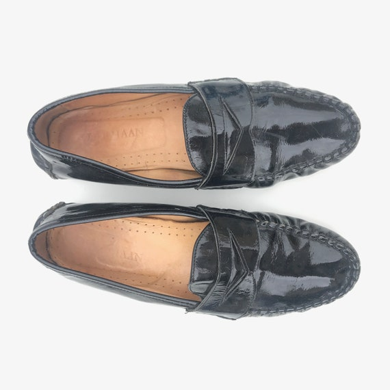 Vintage Cole Haan Black Patent Leather