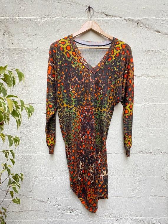 Alexander McQueen Animal Print Dress