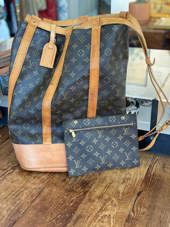 Vintage Louis Vuitton Randonnée Backpack GM LV Mon