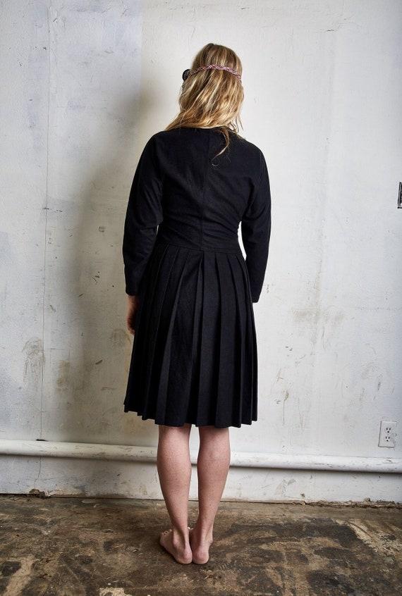 Vintage Comme des Garçons Tricot Black Dress c. 1… - image 4