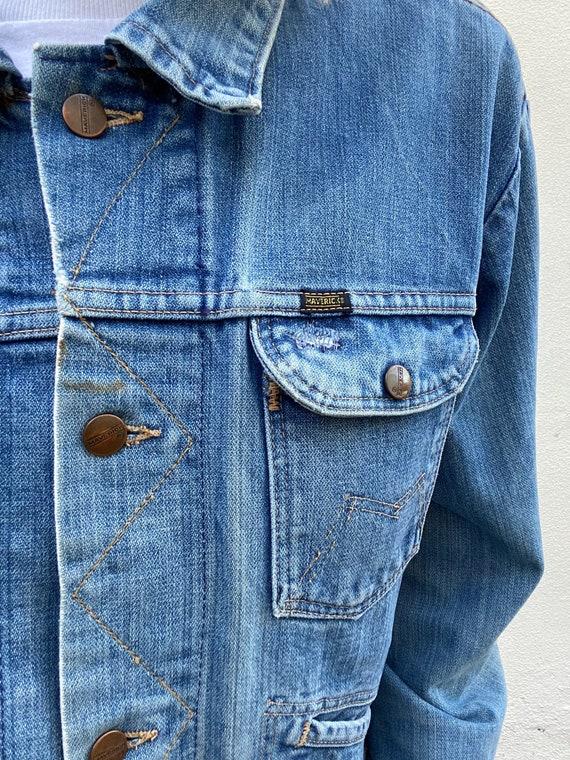 Vintage Maverick Denim Jacket