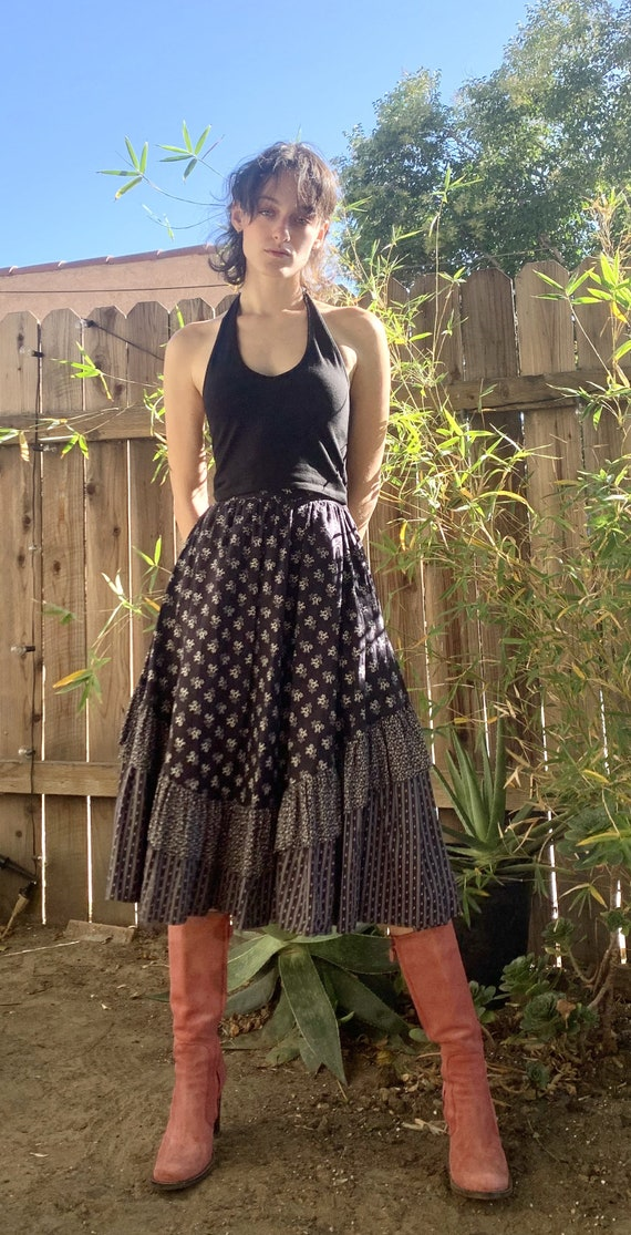 Vintage Prairie Skirt by Crazy Horse