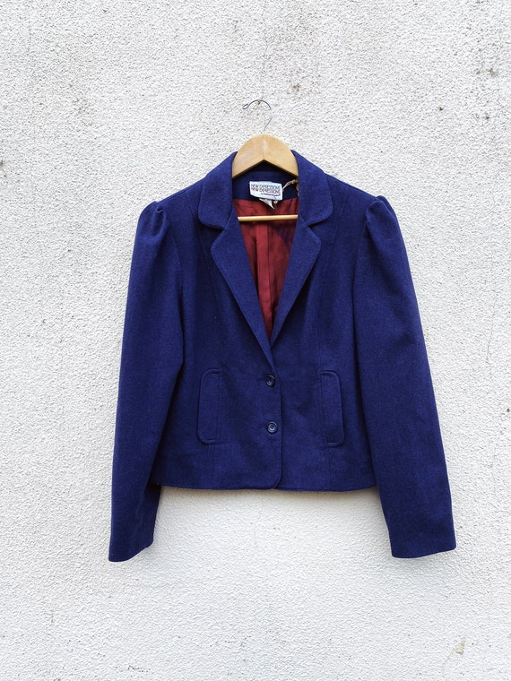 Vintage New Expressions Puff Sleeve Jacket