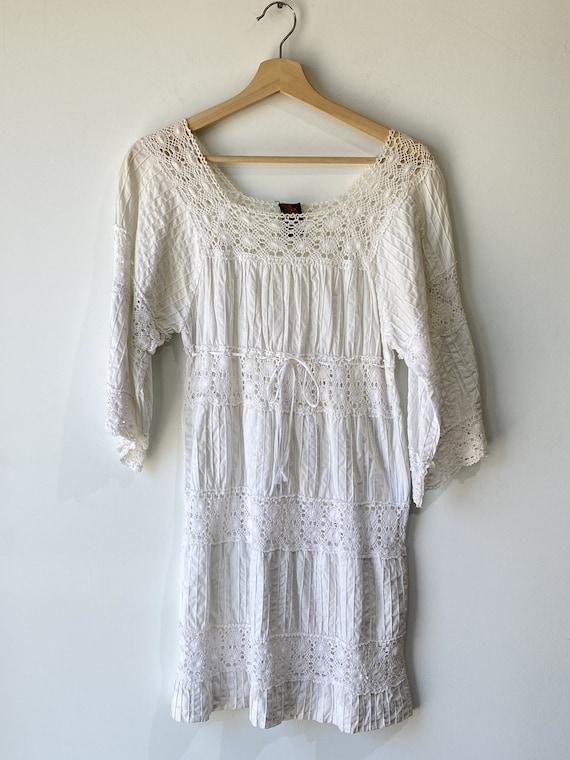 Vintage Vagabond Imports Mexican Wedding Dress