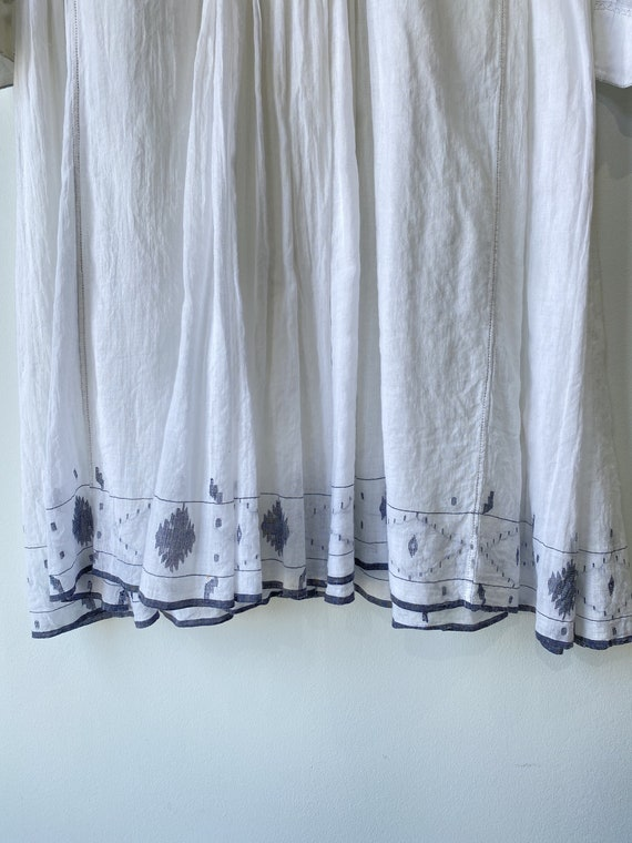 Injiri White Embroidered Dress - image 2